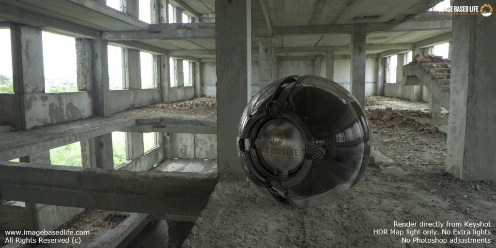 Render Example:  directly from Keyshot. HDR light only. No Extra lights. No Photoshop adjustments.